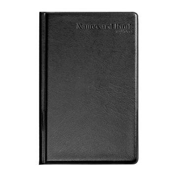 齐心名片册, 办公必备 硬皮,240枚,黑  A1557