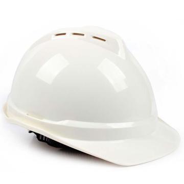 PE双威安全帽,防撞击,易拉宝调节大小,有耳机插槽,有通风孔,轻便,可更换帽衬,印嘉士伯LOGO,白(嘉士伯专供)