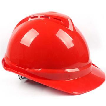 PE双威安全帽,防撞击,易拉宝调节大小,有耳机插槽,有通风孔,轻便,可更换帽衬,印嘉士伯LOGO,红(嘉士伯专供)