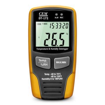温湿度记录仪,华盛昌 迷你型温湿度数据记录器,DT-172