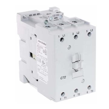 AB 交流线圈接触器,100-C72D10,110VAC