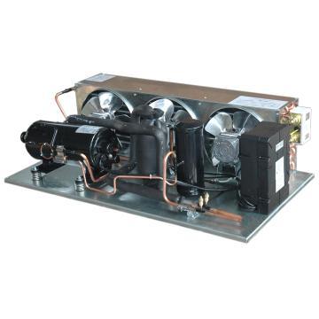 卧式敞开型冷凝机组,博阳,HQHL-23EBR,R22/220V,中低温用,1.5HP