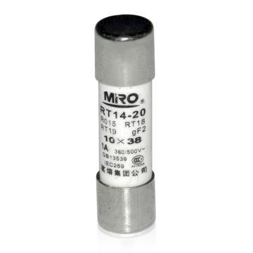 茗熔 熔断器,RO15 10A 20个/盒