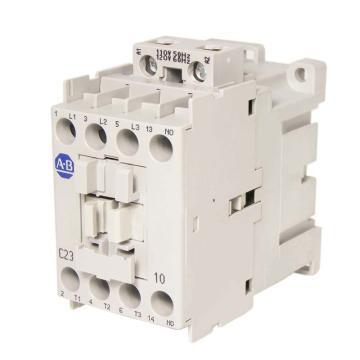 AB 交流线圈接触器,100-C23D10,110VAC