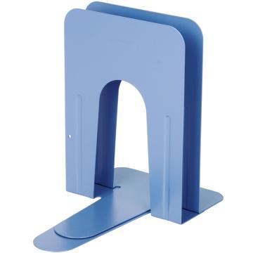 齐心 A1100 图书馆专用铁书立 大号9寸 蓝