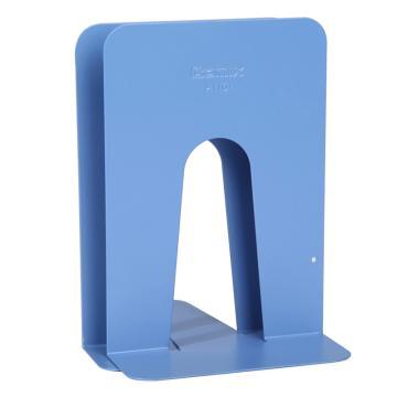 齐心 A1101 家用型铁书立 中号7寸 蓝