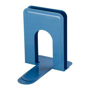 齐心 A1104 铁书立 中号7寸 蓝