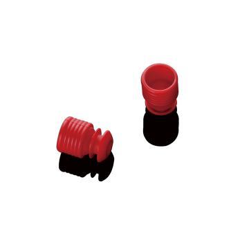 13mm试管盖,红色,配13-1300型号的试管,1000个/袋,2袋/箱