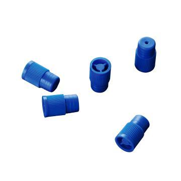 12mm试管盖,蓝色,配12-1275型号的试管,1000个/袋,2袋/箱