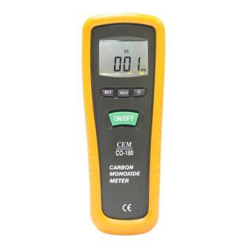 一氧化碳检测仪,华盛昌 0~1000PPM浓度一氧化碳(CO),CO-180