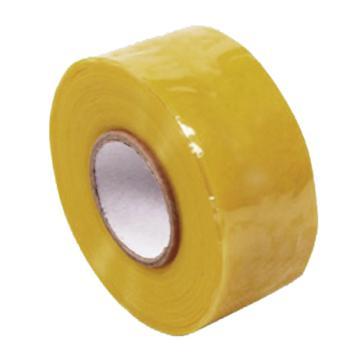 硅橡胶绝缘自粘胶带 100mm*5M*0.5mm  黄色