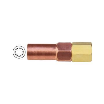 捷锐焊嘴,适于丙烷、天然气,焊接厚度0-0.5mm,LPW-000