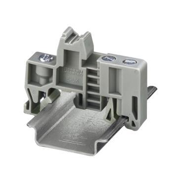 菲尼克斯 接线端子固定件,E/UK 1201442