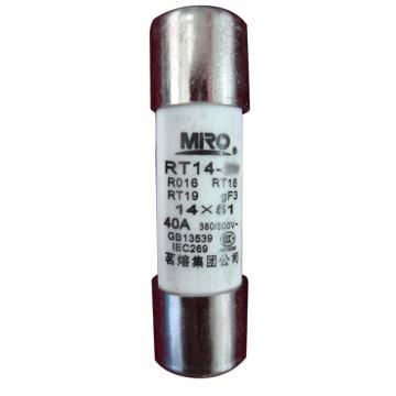 茗熔 熔断器,RT14-40 40A