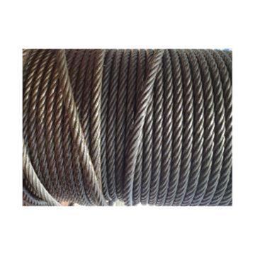 西域推荐 油性钢丝绳,规格:Φ9.3mm,6*19+FC