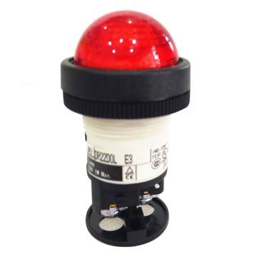 富士FUJI 红色指示灯,DR22D0L-E3-R