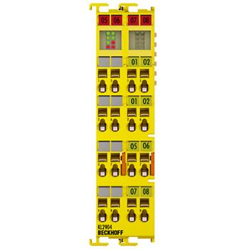 倍福/BECKHOFF    KL2904安全链模块
