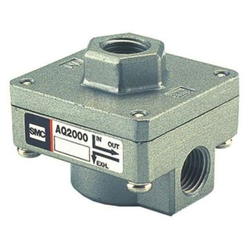 SMC AQ快速排气阀,AQ2000-02