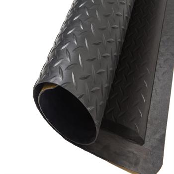 抗疲劳垫,耐磨型抗疲劳垫, 黑 90cm*150cm*15mm