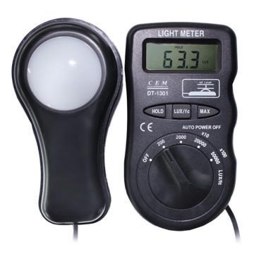 照度计,华盛昌 袖珍型光照度计,DT-1301