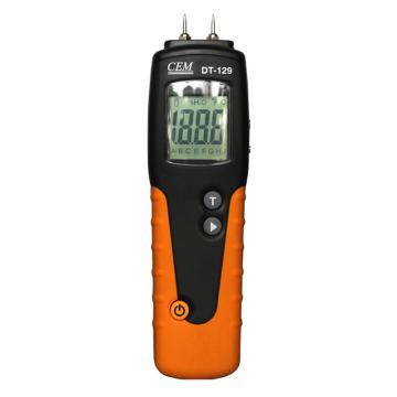 华盛昌/CEM 木材水分温湿度测试仪,DT-129