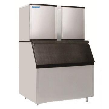 直立分体式制冰机(方形冰),雪人,SD-2200,最大日产1000kg,储冰量460kg