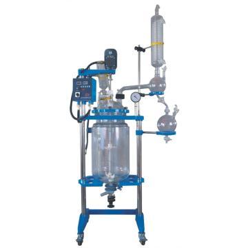 防爆型双层玻璃反应釜,YHGSF(EX)-10L,出口型,予华