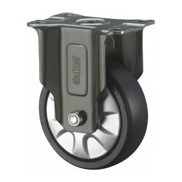 SUPO 03S款墨绿3寸固定双轴承黑色PA轮 J03S-04-75-662