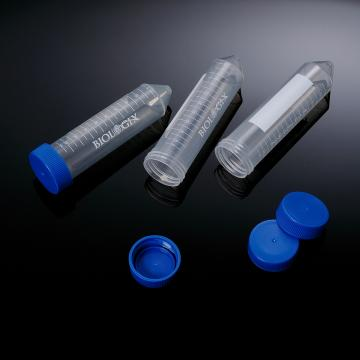 消毒离心管,50ml,圆锥底,平盖,伽玛射线消毒,袋装,25个/袋,20袋/箱