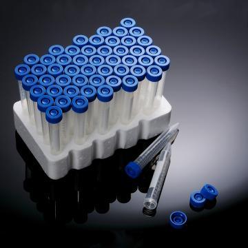 消毒离心管,15ml,圆锥底,塞盖,伽玛射线消毒,架装,50个/架,10架/箱