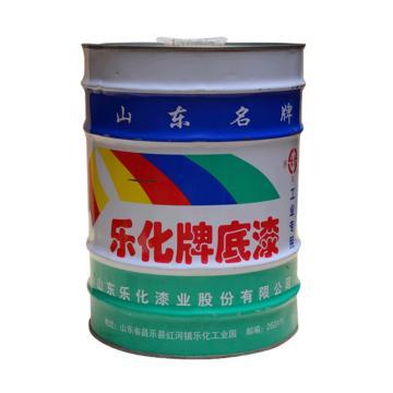 乐化 铁红防锈底漆,15Kg/桶
