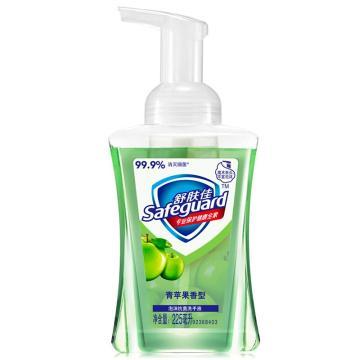 舒肤佳泡沫抗菌洗手液,青苹果香型225毫升 单位:瓶