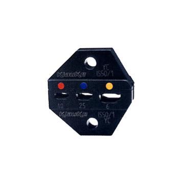 klauke柯劳克 双压模具,0.5-6mm²,IS501