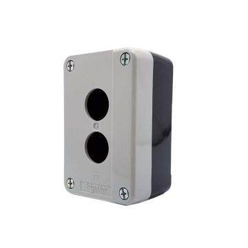 施耐德 XB2 按钮盒(2孔),XALB02C
