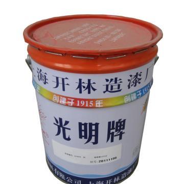 光明牌 黑色氯化橡胶面漆,25kg/桶