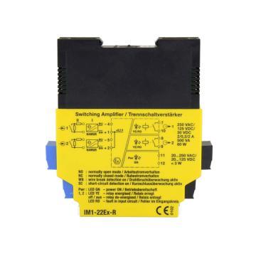 图尔克 隔离开关放大器 IM1-22EX-R/24VDC