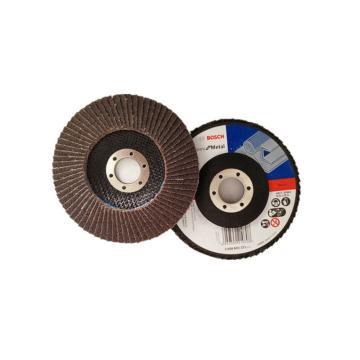 博世百叶轮,金属标准型 125mm×22.2mm,目数60,2608603370