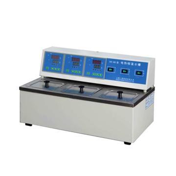 电热恒温水槽,一恒,三孔,控温范围:RT+5-99℃,容积:2.1Lx3