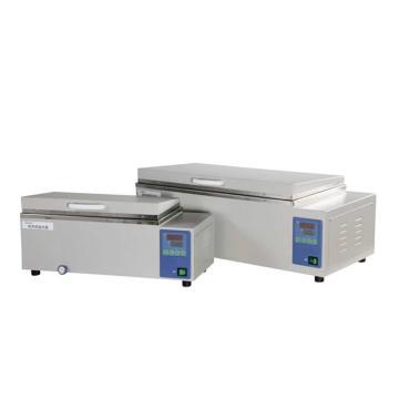 电热恒温水槽,一恒,内胆、外壳均为不锈钢,DK-8AD,控温范围:RT+5~99℃,容积:30L