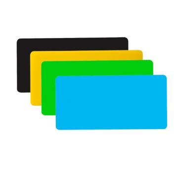 齐心 A7771 欢颜实色复写板/垫板 票据规格 颜色随机