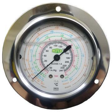 REFCO带油压力表 ++MR-205-DS-MULTI-16BAR++ 产品代码7230587