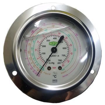 REFCO带油压力表 ++MR-305-DS-CLIM++ 产品代码4677761