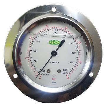 REFCO带油压力表 ++MR-345-DS-35++ 产品代码7203467