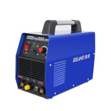 瑞凌 氩弧焊手工焊两用焊机,TIG-200CT(替换WS-200A),220V,官方标配