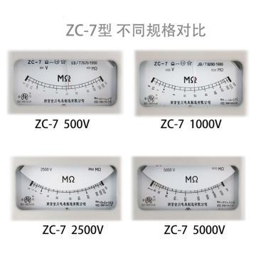 远东/FE ZC-7,500V/500MΩ绝缘电阻表