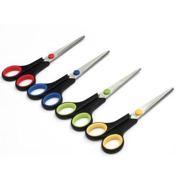 晨光 M&G 办公剪刀,ASS91306 全长174mm (蓝、红、黄,颜色随机) 单位:把