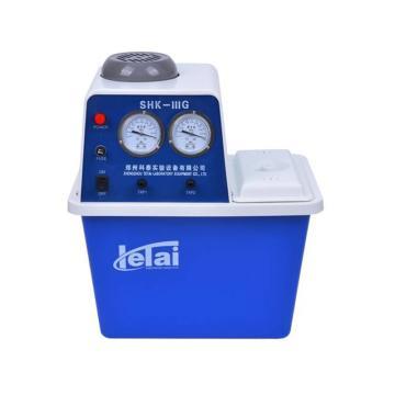 科泰 循环水式多用真空泵,氟橡胶材质气体管路,SHK-IIIG