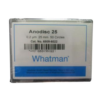 Whatman Anopore无机膜,0.2um/25mm,50片/盒