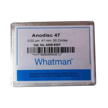 Whatman Anopore无机膜,0.2um/47mm,50片/盒