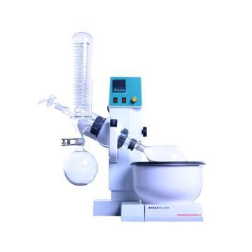 小型旋转蒸发仪,0.5-2L,立式,恒温数显特氟隆复合水浴锅,温度数显,自动升降,RE-2000A